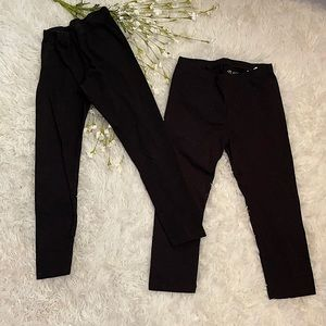 Children's Place Leggings 2 Pairs, Size 7/8